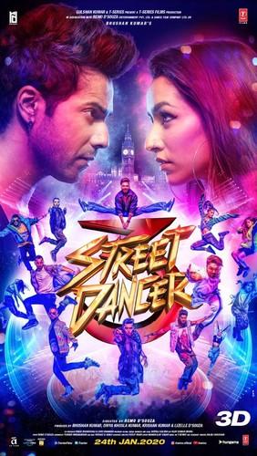 Street Dancer 3D (2020) 1080p HDRip x264 DDP 5 1 Esub-DUS