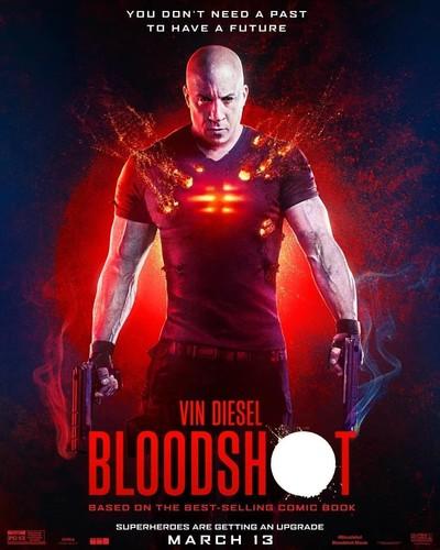 Bloodshot (2020) 720p HDRip x264 [Dual Audio]Hindi-Line+English]