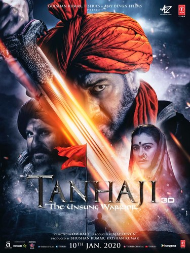 Tanhaji The Unsung Warrior (2020) 1080p HDRip x264 DDP5 1 ESubs-DUS