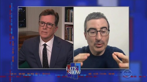 Stephen Colbert 2020 03 30 John Oliver 720p HDTV x264-SORNY