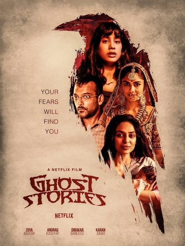 Ghost Stories (2020) 720p HDRip x264 DD5 1 [Multi Audio][Hindi+Telugu+Tamil]