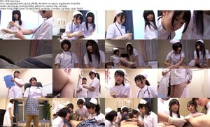 NFDM-341 A urology Nurse&'s work --Do you satisfy your girlfriend or your wife with a dick like that?-- 看護婦・ナース 足コキ アナル 手コキ Dirty Talk 1