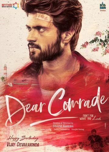 Dear Comrade (2020) 720p HDRip [Multi Audio][Kannada+Telugu+Hindi+Tamil+Mal]