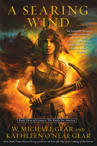 A Searing Wind by Kathleen O'Neal Gear, W  Michael Gear