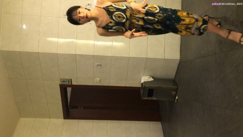 Chinese Lady In Toilet #41